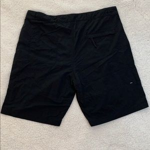 Nike SB Flex Black Nylon Shorts  Size 36